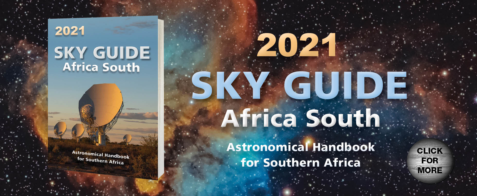 Sky Guide Africa South 2021: Astronomical Handbook for Southern Africa